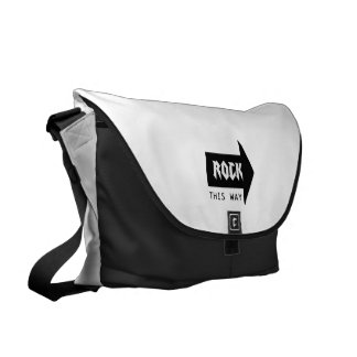 ROCK THIS WAY MESSENGER BAG
