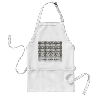 Rock Tiles With Bows Aprons