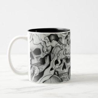 rock Two-Tone coffee mug