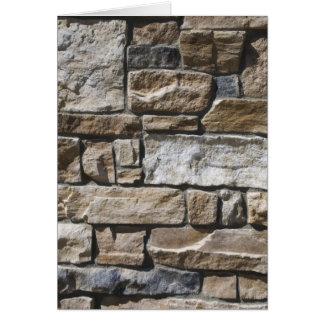 Rock Wall Card
