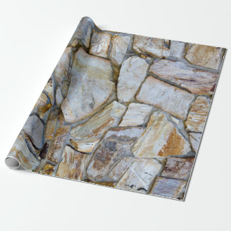 Rock Wall Texture Photo Wrapping Paper