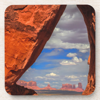 Rock window to Monument Valley, AZ Coaster