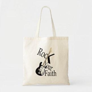 Rock Your Faith Tote Bag