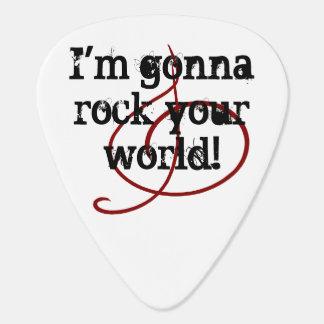 Rock Your World Guitarists Musicians Guitar Music Guitar Pick