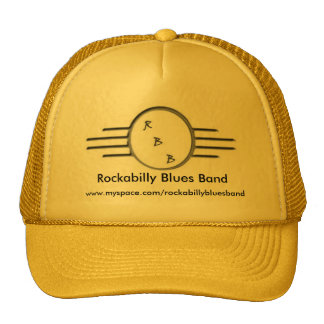 Rockabilly Blues Band Hat