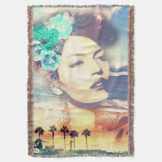 Rockabilly California Palms Coastal Summer Woman
