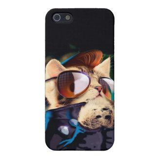 Rockabilly cat - biker cat - rocker cat - cute cat iPhone 5 cover
