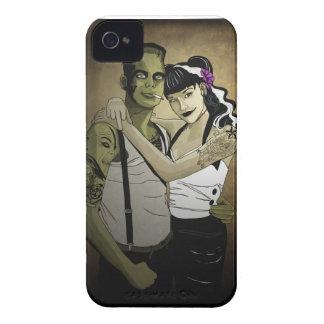 Rockabilly Couple iPhone 4 Case