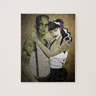 Rockabilly Couple Puzzle