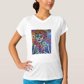 Rockabilly Dia de los Muertos By Prisarts T-Shirt