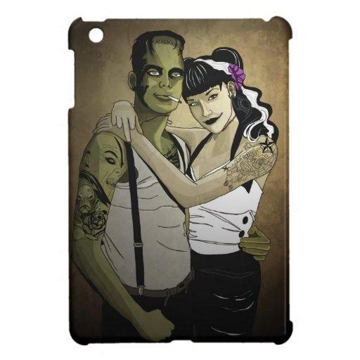 Rockabilly Frank and Bride iPad Mini Cases