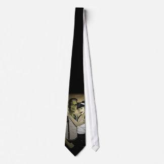 Rockabilly Frank and Bride Tie