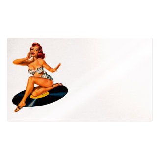 Rockabilly Goddess Pack Of Standard Business Cards