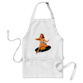 Rockabilly Goddess Standard Apron
