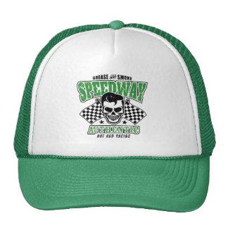 Rockabilly Hot Rod Racer Skull Cap