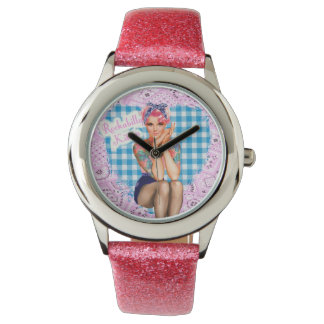 Rockabilly Kitten Watch