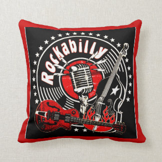 rockabilly pillow