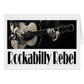 Rockabilly Rebel Greeting Card