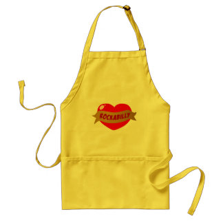 Rockabilly Tattoo Heart Standard Apron
