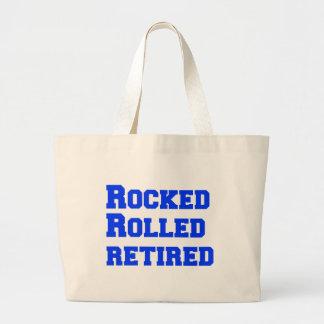 rocked-freshman-blue.png large tote bag