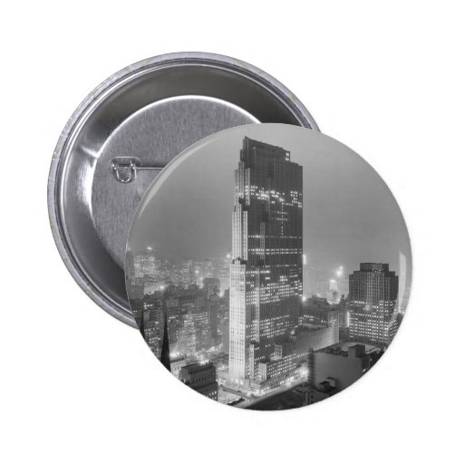 Rockefeller Center and RCA Building New York City Pins