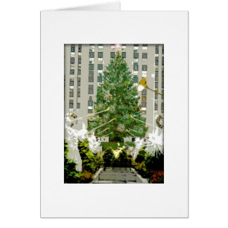 Rockefeller Center Christmas Tree Christmas Card