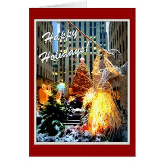 Rockefeller Center Christmas Tree Greeting Cards