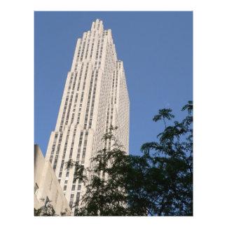 Rockefeller Center Custom Flyer