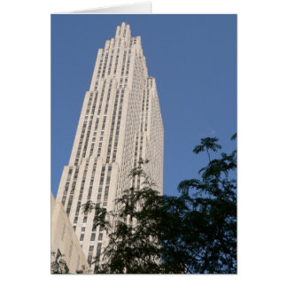 Rockefeller Center Greeting Card