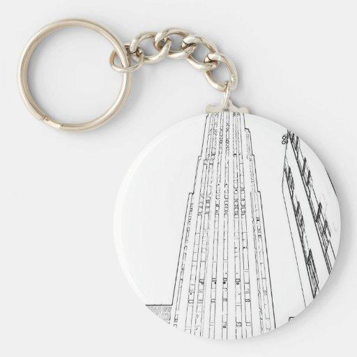 Rockefeller Center Keychains