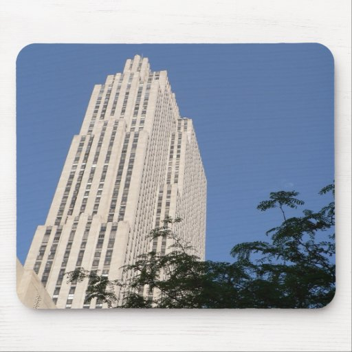 Rockefeller Center Mouse Pad
