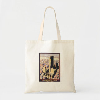Rockefeller Center New York Budget Tote Bag