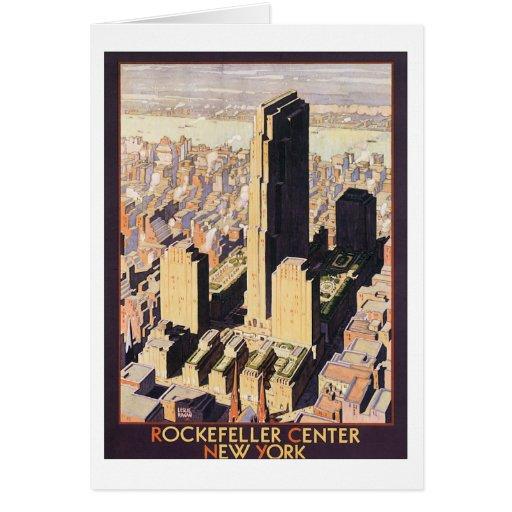 Rockefeller Center New York Card