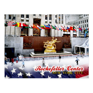 Rockefeller Center, New York City Postcard
