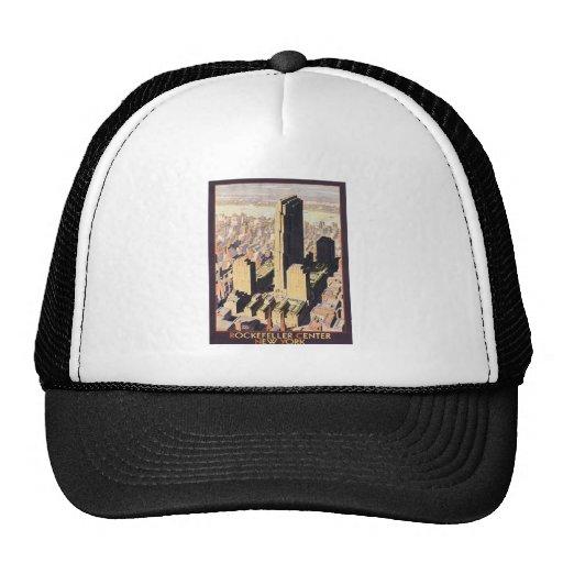 Rockefeller Center New York Mesh Hat