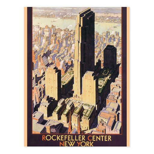 Rockefeller Center New York Post Cards