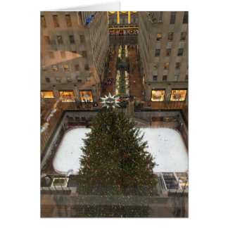 Rockefeller Center NYC Christmas Tree Holiday Card