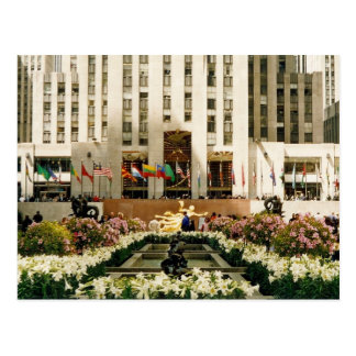 rockefeller center post cards