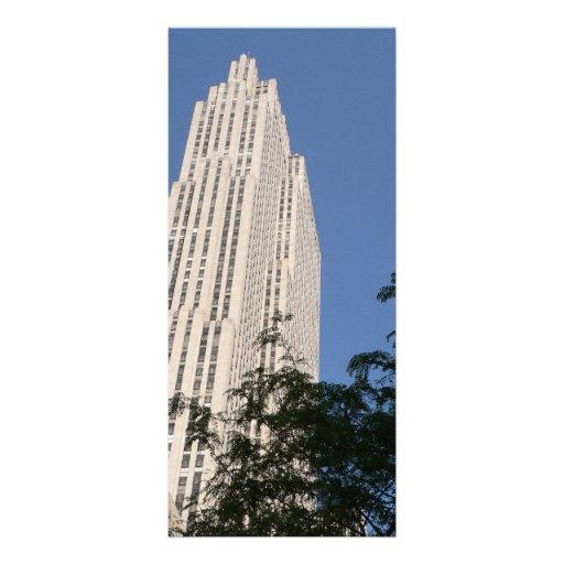 Rockefeller Center Personalized Rack Card