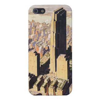 Rockefeller Center Savvy iPhone 5 Glossy Case iPhone 5 Cases