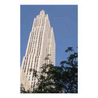 Rockefeller Center Customized Stationery