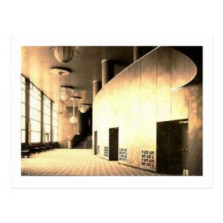 Rockefeller Center, Theatre Foyer, New York City Postcard