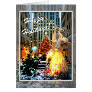 Rockefeller Centre Christmas Tree Greeting Cards
