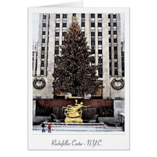 Rockefeller Centre - New York City Card