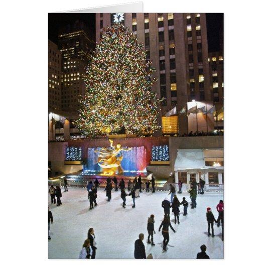 Rockefeller Centre Tree 2011 Card