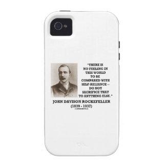 Rockefeller No Feeling Self-Reliance Sacrifice iPhone4 Case