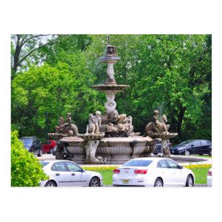 Rockefeller's Italian Fountain Postcard
