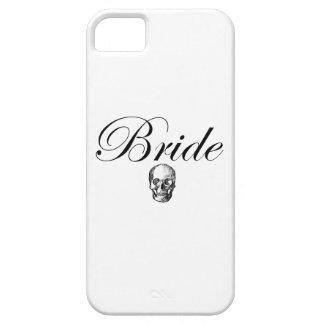 Rocker Bride Goth Skull iPhone 5 Covers