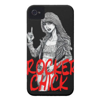 Rocker Chick - Blackberry Phone Case iPhone 4 Case-Mate Cases