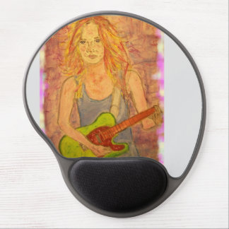 Rocker Girl Gel Mouse Pad